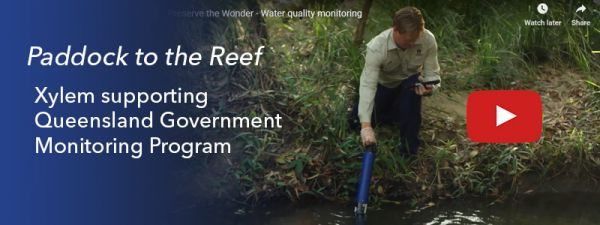 "Xylem supporting ""Paddock to the Reef"" Monitoring Program"