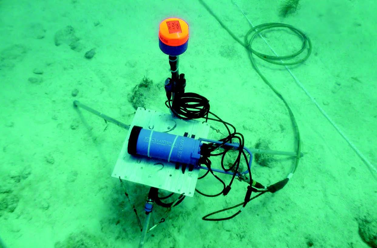 Aanderaa ZPulse Doppler Current Sensor (DCS) 4420, 4520