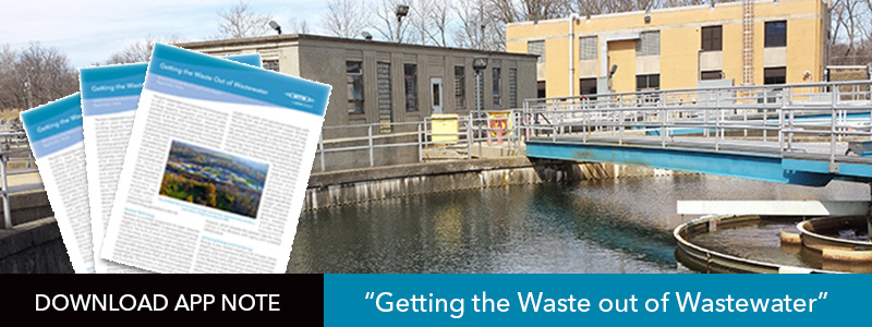 Getting the waste out of wastewater