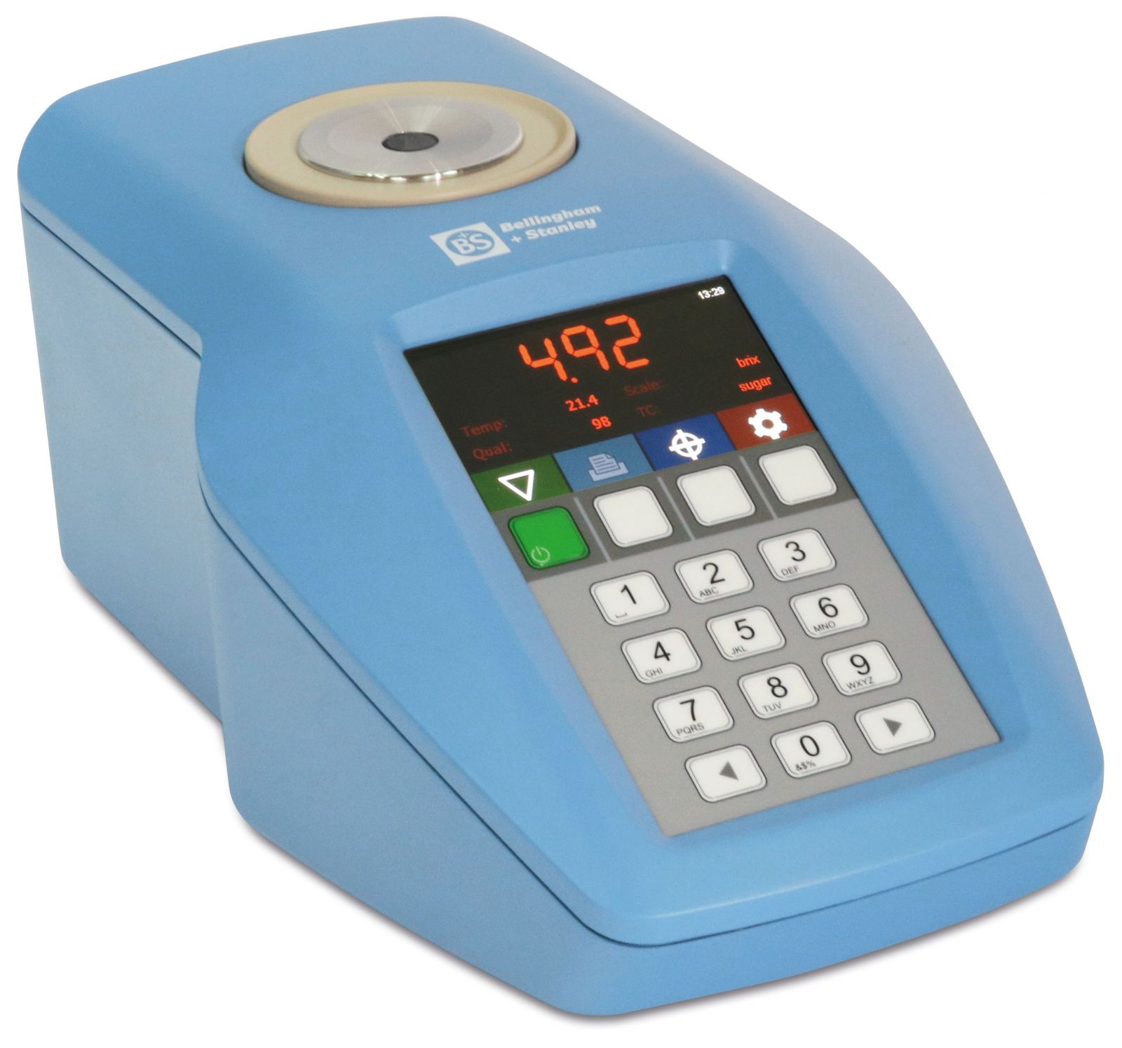 Robust Switch Membrane and USB Connectivity Bellingham Bellingham /& Stanley 19-10 RFM732-M Refractometer with Latest Integral 4 Full Colour Display Stanley Inc