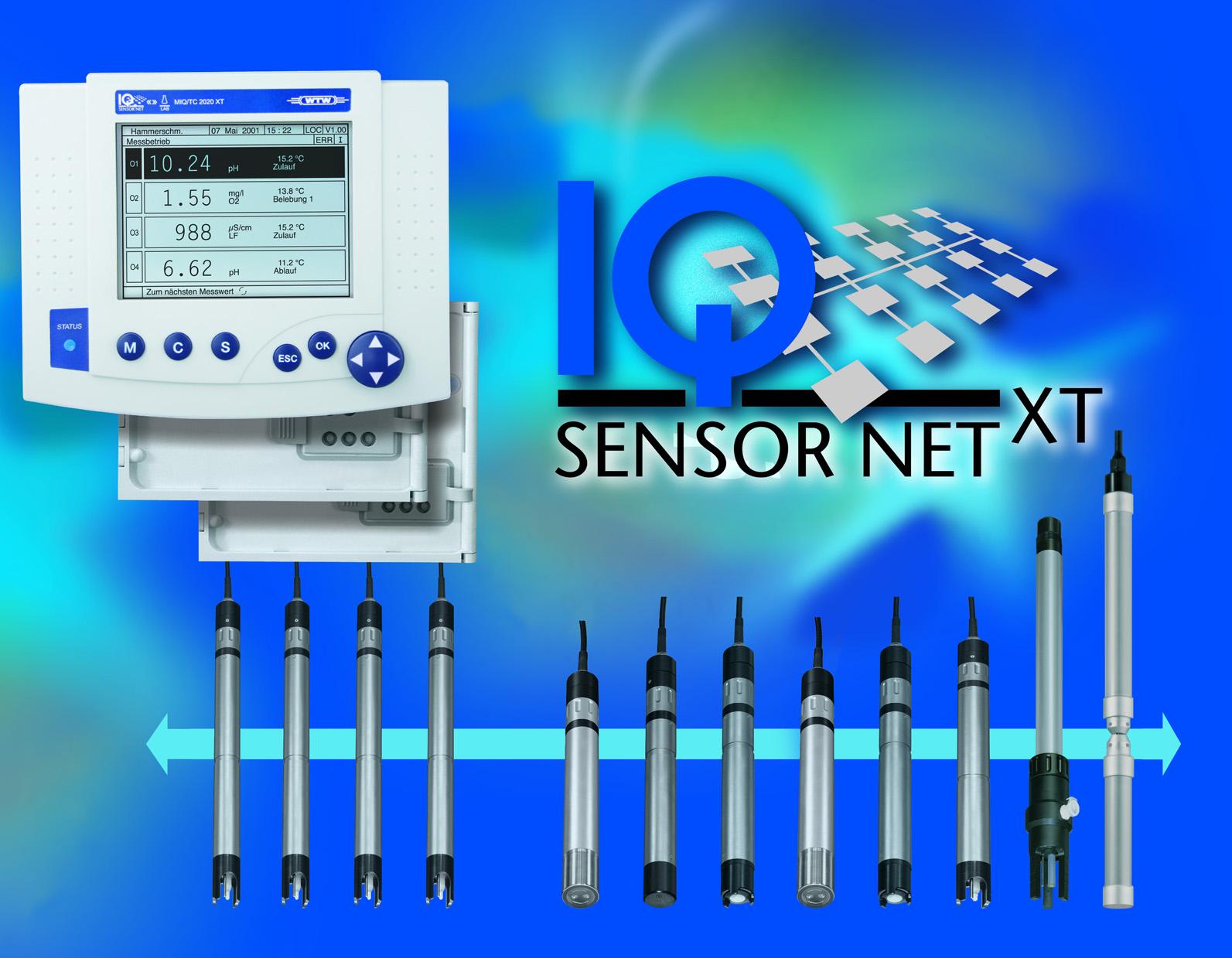 Wtw Iq Sensor Net Online Monitoring System Xylem